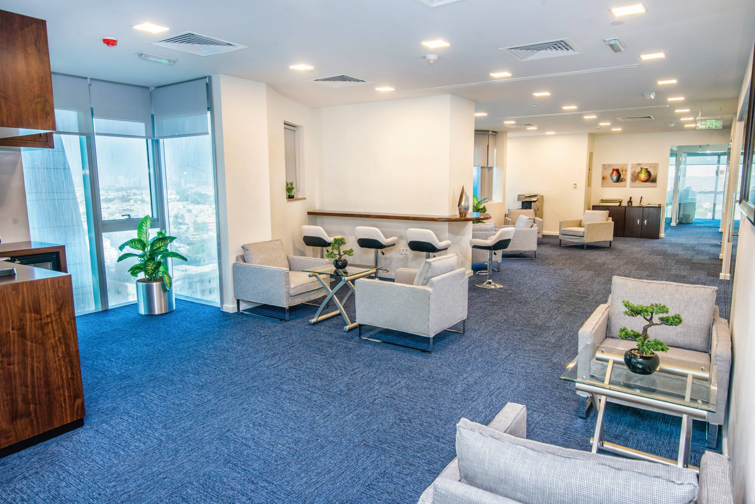 business centers in Reem Island