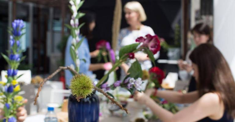 Best Ikebana Classes in Dubai