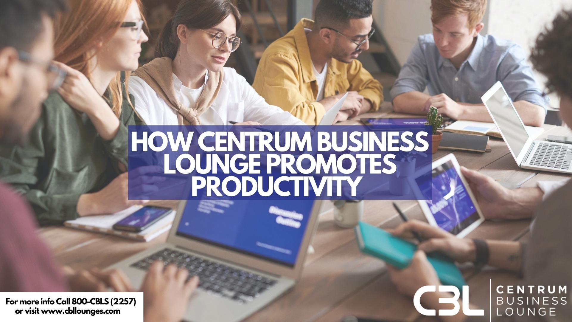Business Centre in Dubai promoting productivity