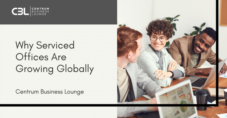 Why Serviced Offices Are Growing Globally