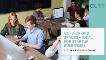 CO-WORKING SPACES – IDEAL FOR STARTUP BUSINESSES
